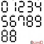 7-segment digits